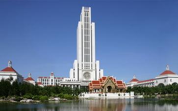 谷澤が通ったアサンプション大学のキャンパス。