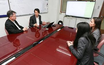 TGIとのプロジェクトは関係者との打ち合わせも多い。